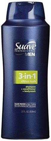 Suave Professionals Men 3in1 Saç Ve Vücut Şampuanı 828 Ml