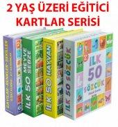 Dıytoy 4 Set 1 Arada Eğitici Zeka Kartları...