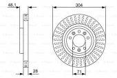 Citroen C4 Picasso 1.6 2013 2019 Bosch Ön Disk 2 Adet
