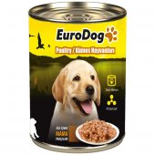 Eurodog Yavru Köpek Konservesi Tavuklu 415 Gr (10)