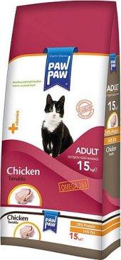 Pawpaw (Paw Paw) Tavuklu Yetişkin Kedi Maması...