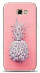 Dafoni Samsung Galaxy A5 2017 Pink Ananas Kılıf