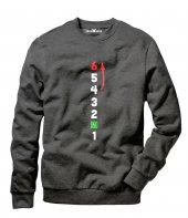 Tshirthane 1n23456 Motobiker Erkek Uzun Kollu Sweatshirt
