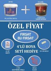 20 Kg Nergis Duvar Boya+17.5 Kg Kripton Tavan+Hediye