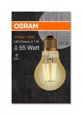 Osram Vintage 1906 Led Classıc A Gold 55watt...