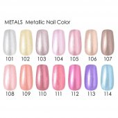 Golden Rose Metals Metallic Nail Color 105 Metallic Oje