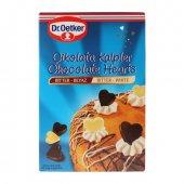 Dr. Oetker Çikolata Kalpler Bitter&beyaz 45 Gr 72li