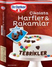 Dr. Oetker Çikolata Harf & Rakamlar 60 Gr