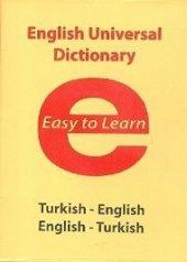 Evrensel İletişim İlköğretim Türkçe İngilizce İngilizce Türkçe Sözlük