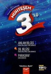 çap Yayınları Tyt Ayt Kpss Ales Dgs Muhteşem 3 Lü Set Anlam Bilgisi Dil Bilgisi Paragraf Tamamı Video Çözümlü