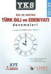Limit Yayınları Ayt Kronometre Türk Dili Ve Edebiyatı 20x24 Deneme