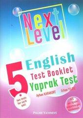 Palme Yayınları 5. Sınıf Next Level English Test Booklet Yaprak Test