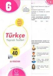 Palme Yayınları 6. Sınıf Türkçe Yaprak Test