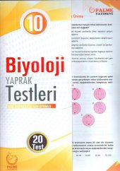 Palme Yayınları 10. Sınıf Biyoloji Yaprak Test...