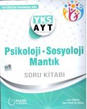 Palme Yayınları Ayt Psikoloji Sosyoloji Mantık Soru Kitabı