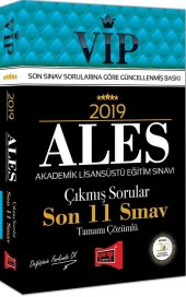 Yargı Yayınları 2019 Ales Vip Tamamı Çözümlü Son 11 Sınav Çıkmış Sorular