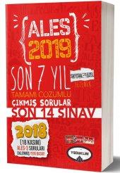 Yediiklim Yayınları 2019 Ales Son 7 Yıl Tamamı Çözümlü Çıkmış Sorular(18 Kasım Ales-3 ekli)
