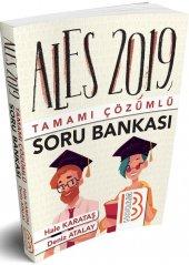 Benim Hocam Yayınları 2019 ALES Tamamı Çözümlü Soru Bankası
