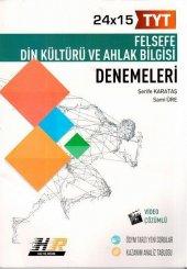 Hız Ve Renk Yayınları Tyt Felsefe Din Kültürü Ve Ahlak Bilgisi 24x15 Denemeleri