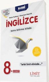 Limit Yayınları 8. Sınıf İngilizce Konu Bitirme Kitabı