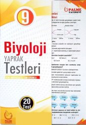 Palme Yayınları 9. Sınıf Biyoloji Yaprak Testleri