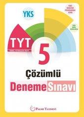 Palme Yayınları Tyt 5 Çözümlü Deneme Sınavı
