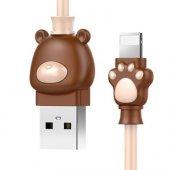 Baseus Bear Cable Apple Uyumlu Ayı Tasarımlı 1...