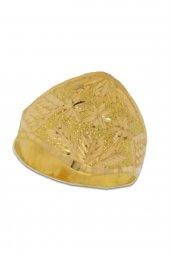 Cigold 22 Ayar Taşsız Yüzük 19k1yzk0296001307
