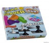 Satranç Kızma Birader Eğlenceli Eğitici Zeka Ve Ge...