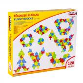 Funny Bloks(Eğlenceli Bloklar) 128pcs Eğitici Lego...