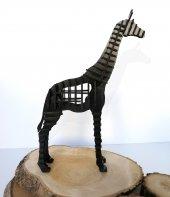 3D Zürafa, 3 Boyutlu Ahşap Puzzle, Dekorasyon, Ahşap Oyuncak,Dekorasyon Ürünü-3