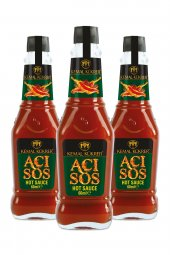 Kemal Kükrer Acı Sos Hot Sauce 60 Ml 3 Lü Paket