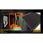 Akustik Piramit Sünger Alev Almaz 4cm 50x50