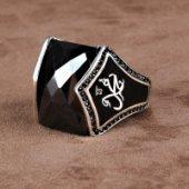 Kişiye Özel Arapça İsim Yazılı Gümüş Yüzük-2
