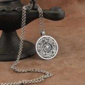 Ayetel Kürs-i Yazılı Gümüş Kolye