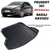 Peugeot 301 Sd 2012 Sonrası 3d Bagaj Havuzu