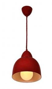 Mylight Metal Kırmızı Sarkıt Avize 20 Cm