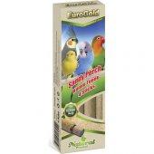 Eurogold Kuşlar İçin Kumlu Tünek 4lü
