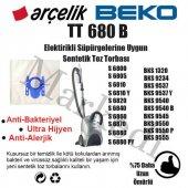 Arçelik S6800 S6805 S6810 S68106820 S6840 Bez Süpürge Torbası
