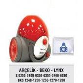 Arçelik S6300 S6350 S6360 S6380y S6355 5 Adet Bez Toz Torbası