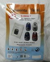 Rowenta Tefal Hygenie+ Bez Süpürge Torbası 5 Adet