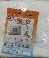 Arçelik Beko Tt550 Tt970 Bez Süpürge Torbası 5 Adet