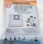 Fakir Simtel Sinbo Fantom Arçelik Beko King Süpürge Torbası 5 Ad
