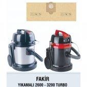 Fakir Ext 2600 3200 Turbo Bez Süpürge Torbası 5 Adet