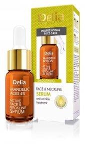 Delia Mandelic Almond Acid 5 Smoothing Face Neckline Serum 10ml