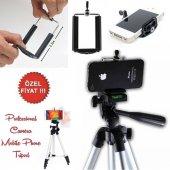 150 CM Kamera Telefon Tripodu Tripot Fotoğraf-2