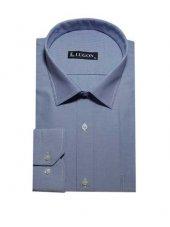 Lugon 0087 Uzun Kol Klasik Battal Erkek Gömlek