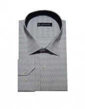 Lugon 0211 Uzun Kol Klasik Battal Erkek Gömlek