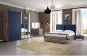 Kemençe Lacivert Yatak Odası Takımı T2
