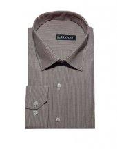 Lugon 0579 Uzun Kol Klasik Battal Erkek Gömlek